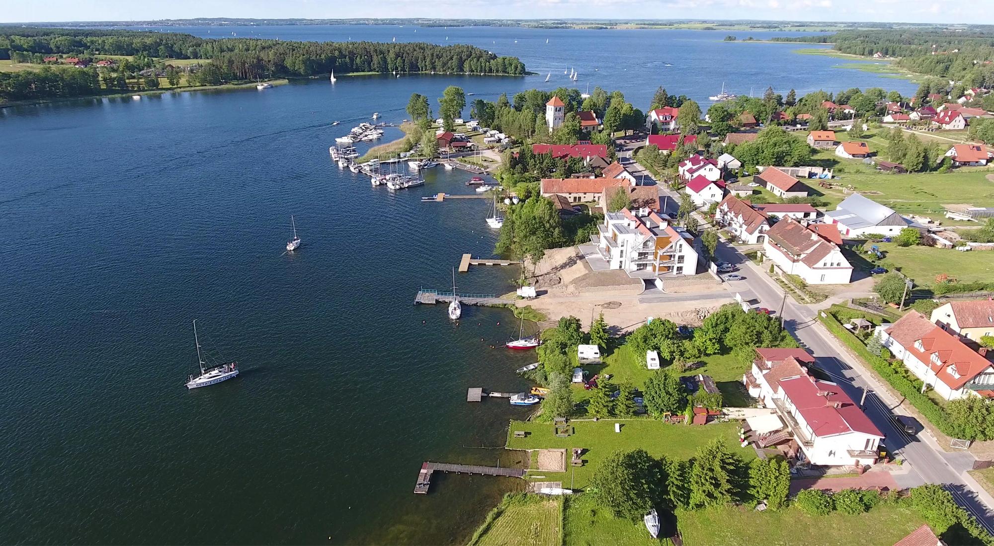 Czterodniowy rejs po Wielkich Jeziorach Mazurskich