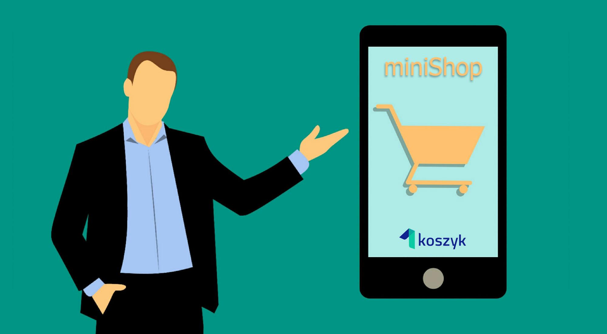 miniShop – mój sklep internetowy